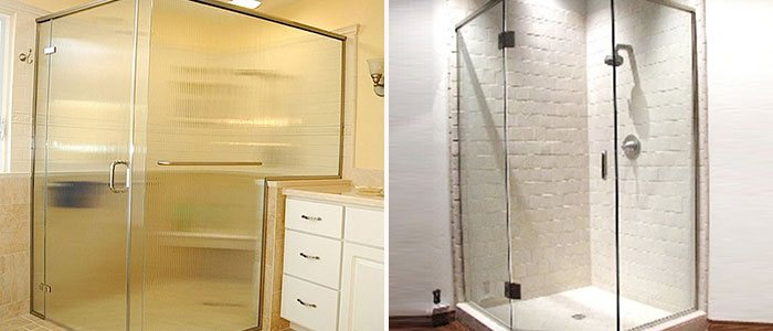 Semi-Frameless Shower Door Huntington Beach