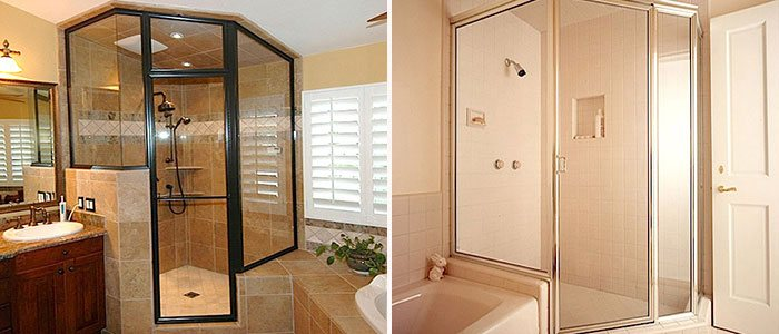 Framed Glass Shower Doors Designs