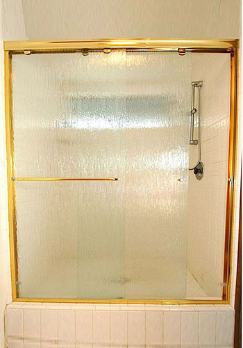 Semi-Frameless Shower Doors Chino, CA.