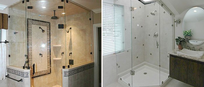Fountain Valley Frameless Shower Enclosure