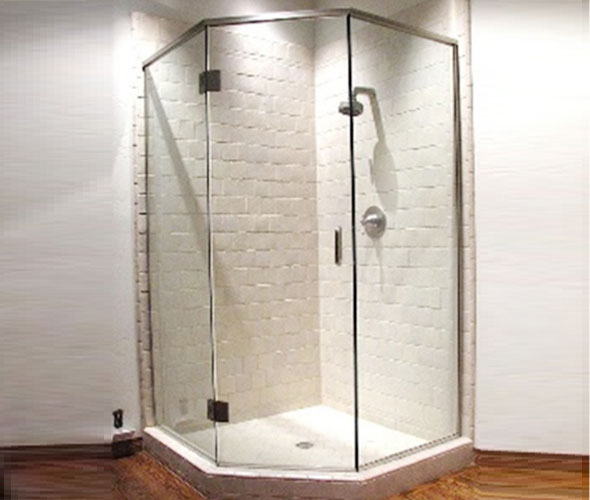 Fountain Valley Semi-Frameless Shower Enclosures